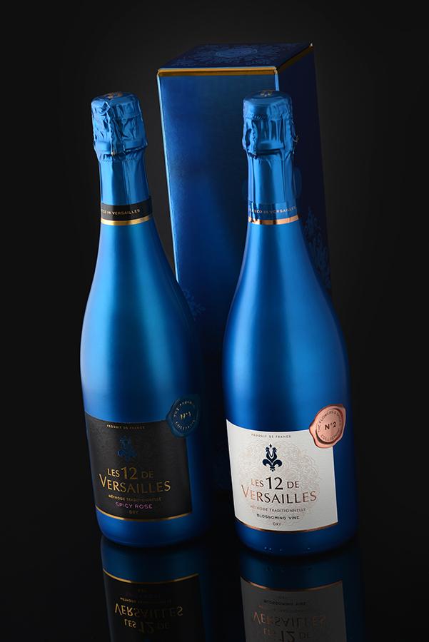 Photo de bouteilles de champagne